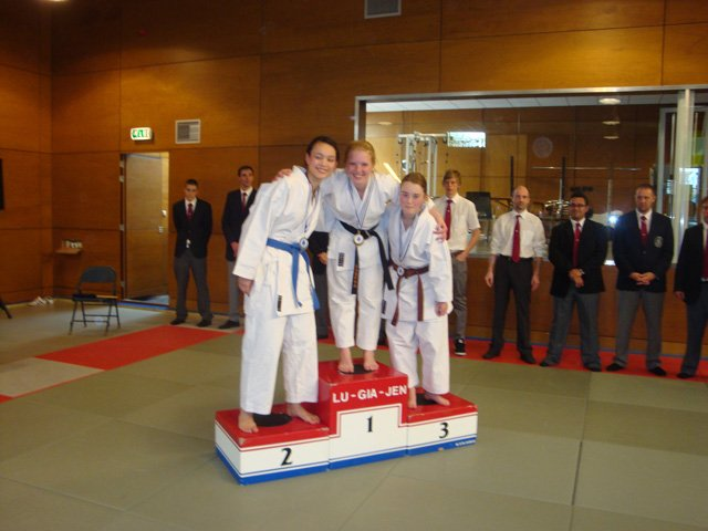 Laureen 2nd Open Kata Kampioenschappen