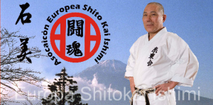 Master Ishimi, technical director Shitokai Europe Organization