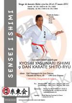 Shito Ryu stages Master Ishimi 2011