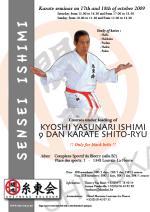 Shito Ryu stages Master Ishimi 2009