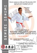 Shito Ryu stages Master Ishimi 2010